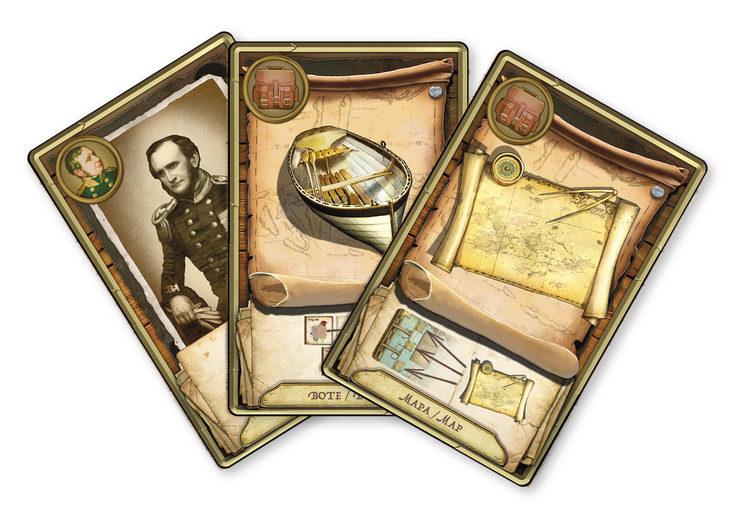 Las cartas de personajes y de equipo otorgarán diferentes ventajas durante el transcurso del juego.