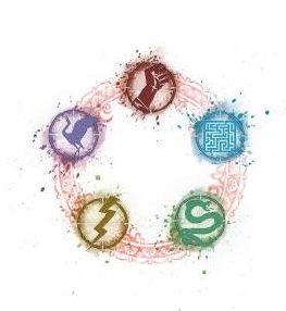 Los cinco elementos del Tai Ping