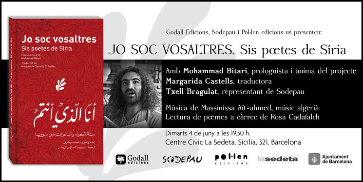 Jo soc vosaltres per fi es presenta a Barcelona!