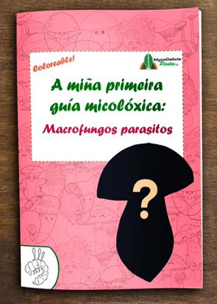Portada do libro Macrofungos parasitos, cogomelo aínda por decidir
