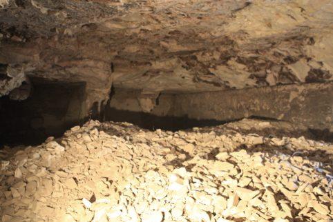 Interior de la Tumba del Visir Amen-Hotep Huy en 2009. Proyectovisiramenhotephuy©IEAE