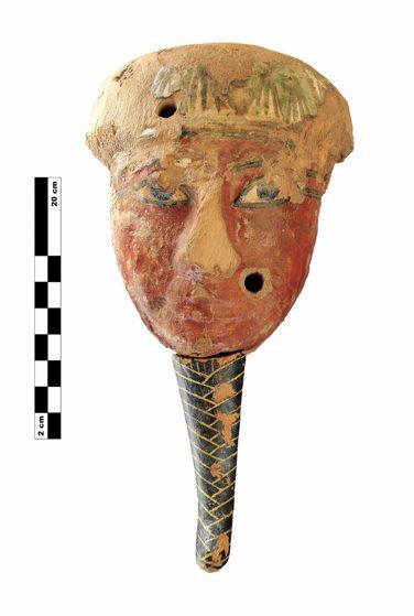 Máscara de Sarcófago. Proyectovisiramenhotephuy©IEAE