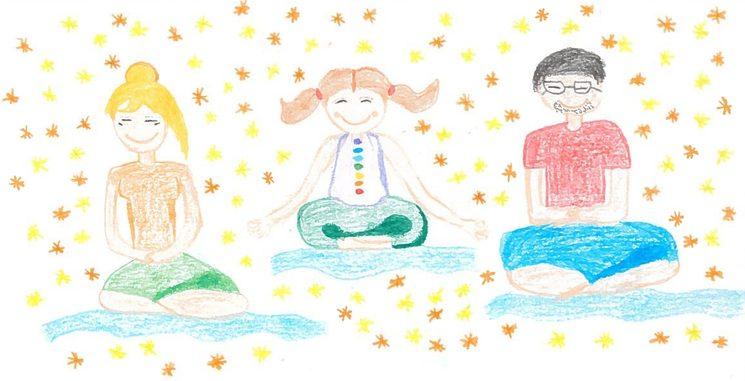 Dibujo de Tania y Noa