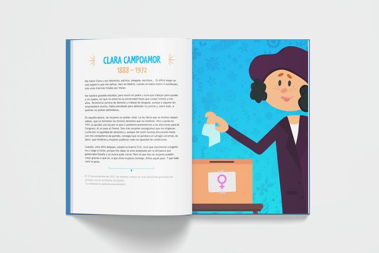 Clara Campoamor (17+85 Españoles geniales)