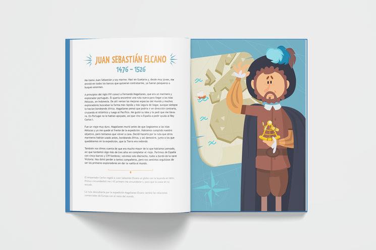 Juan Sebastián Elcano (17+85 Españoles geniales)