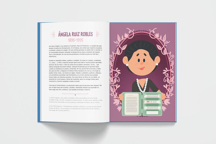 Ángela Ruiz Robles (17+85 Españoles geniales)