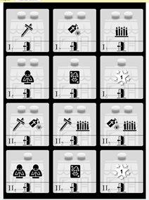 Las cartas del prototipo The Exorcist