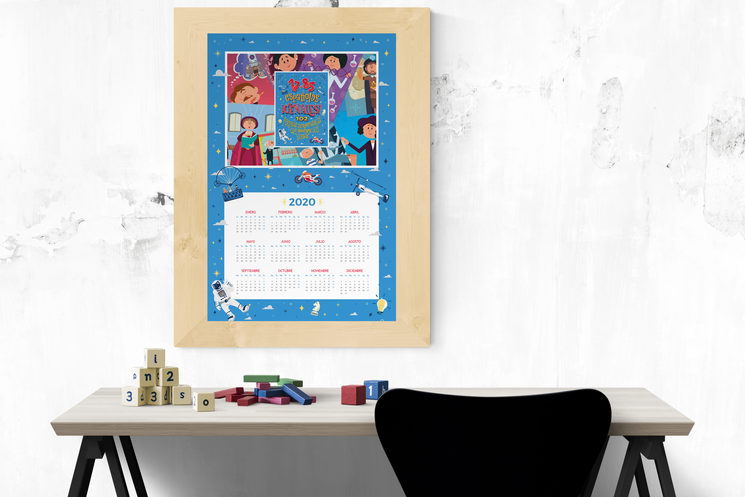 Calendario póster