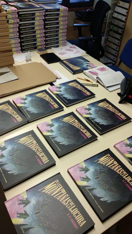 Libros listos para sellar