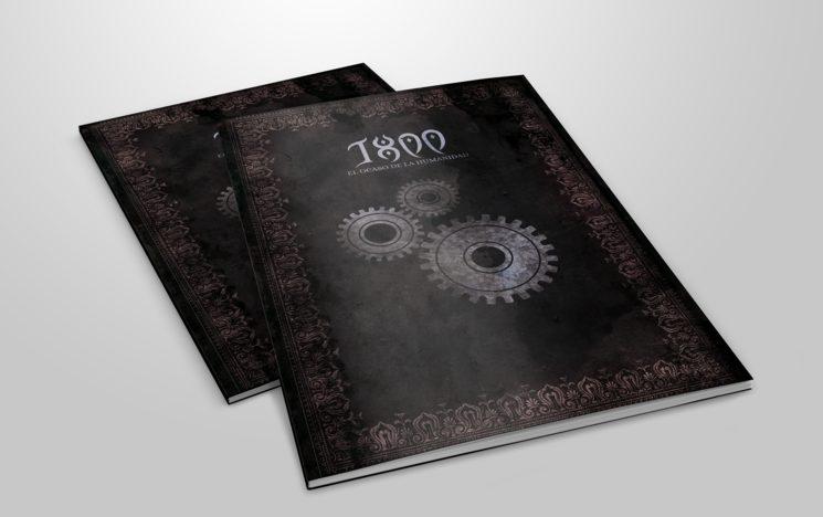Mockup del Libro de Organización - Escuela de Ingenieros. El diseño definitivo puede cambiar.