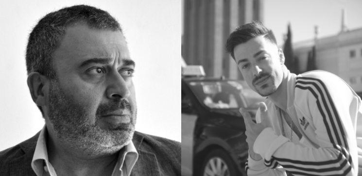 """Farzin Sebastian Ghandchi, """"Abdul"""" y Alex Serrano, """"Young Basilio"""""""