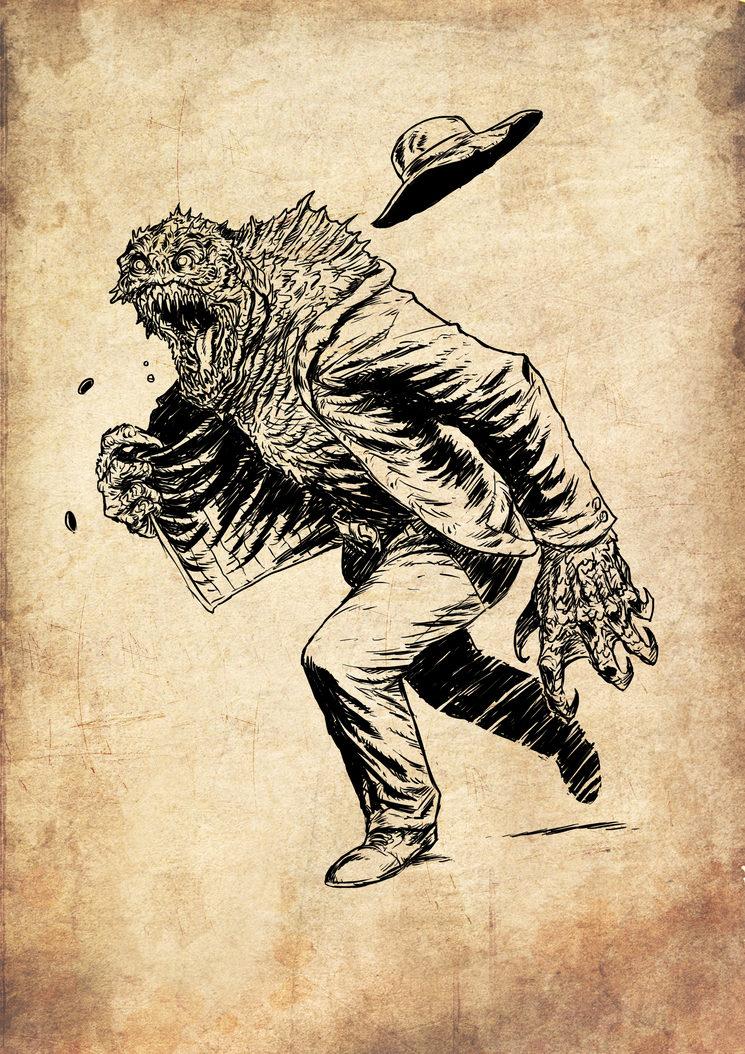 Horror Marino, ilustrado por Jagoba Leukona