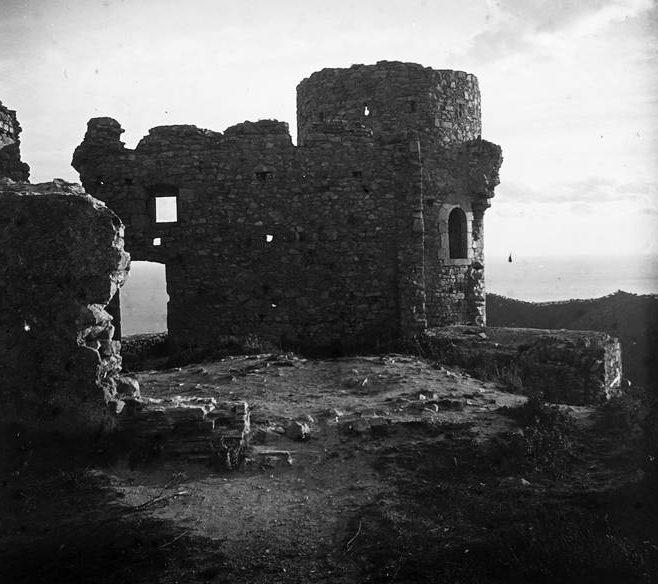 Fotografia antiga de la torre de l