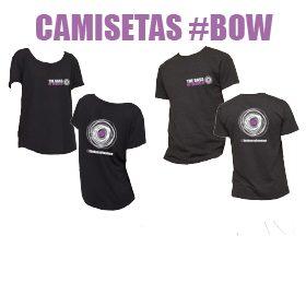 Pre-diseño de camisetas BOW