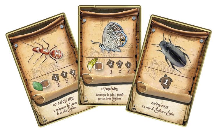Tres cartas de nivel 1