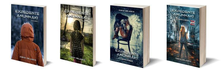 Novelas y librojuegos de Expediente Anunnaki