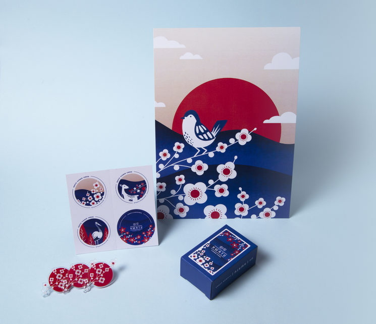HWATU flower cards productos