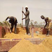 Obras en Casamanche, Senegal