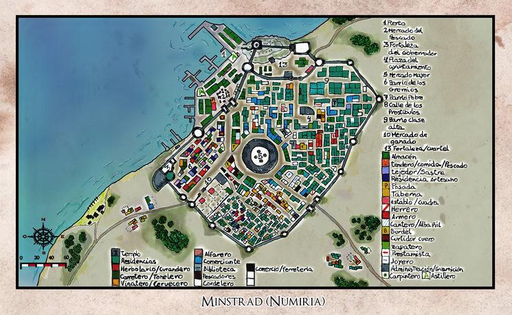 Una ciudad donde podrás saber mas a cerca del final de la novela.