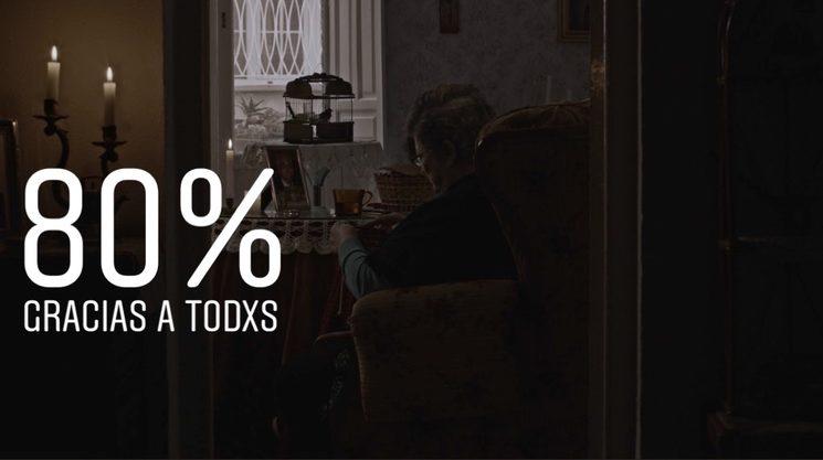 ¡¡YA ESTAMOS EN EL 80%!!