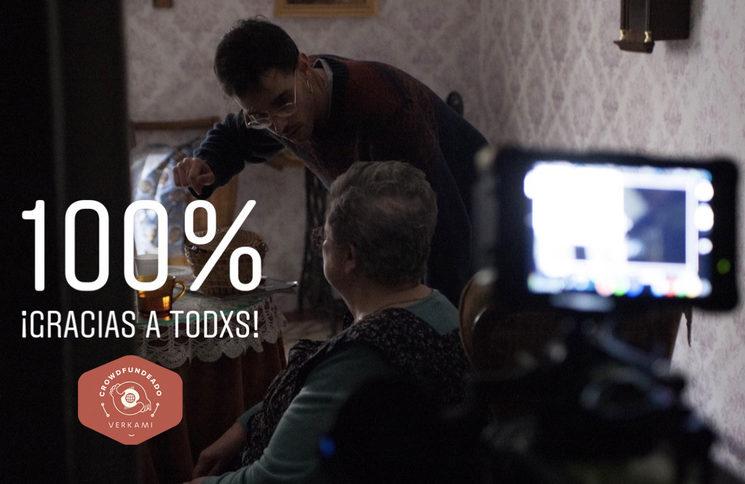 Conseguido el 100% para rodar el cortometraje.