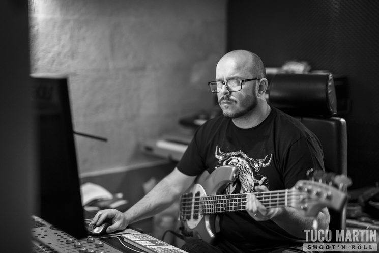 Miquel Àngel Riutort aka Mega (basses and music production)
