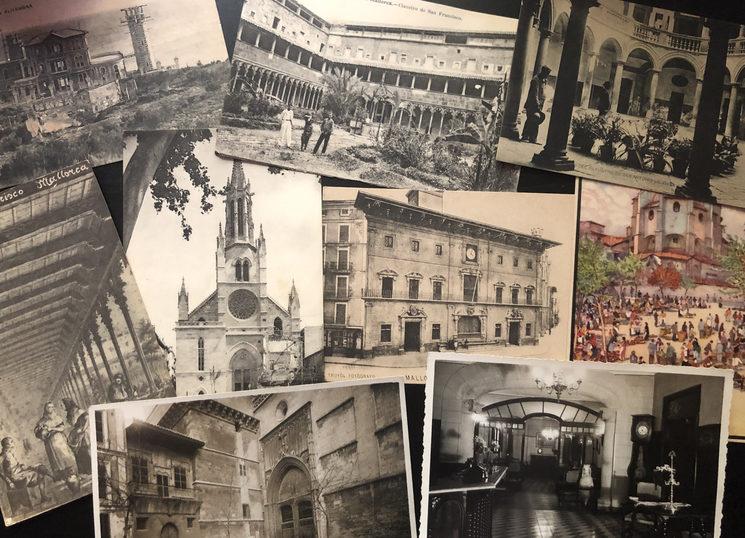 Un recorregut visual a una altra època a través de les millors postals editades a Mallorca