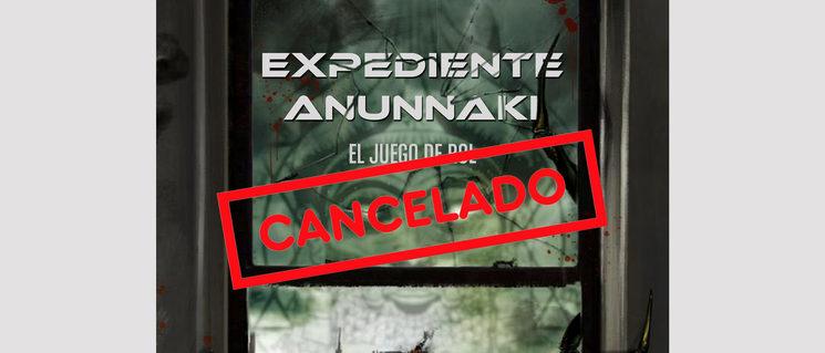 Cancelamos el Verkami