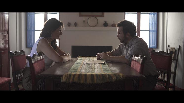 Fotograma de una de las escenas de la película sin etalonar.