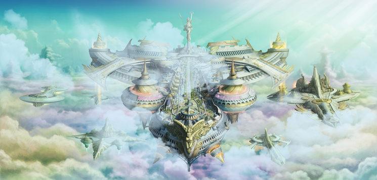las ciudades de las nubes...