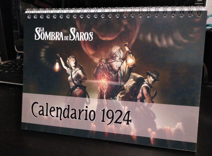 El calendario de campaña.