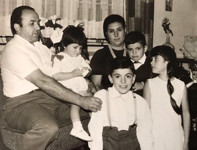 Amparo and his first children