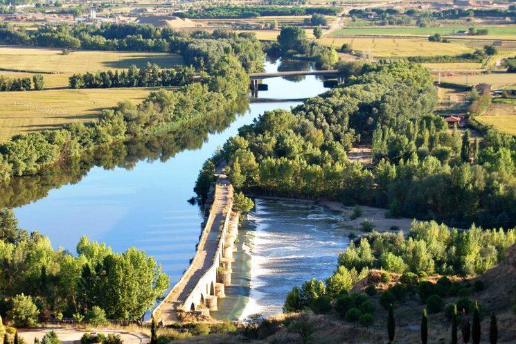 Vega Río Duero a su paso por Toro