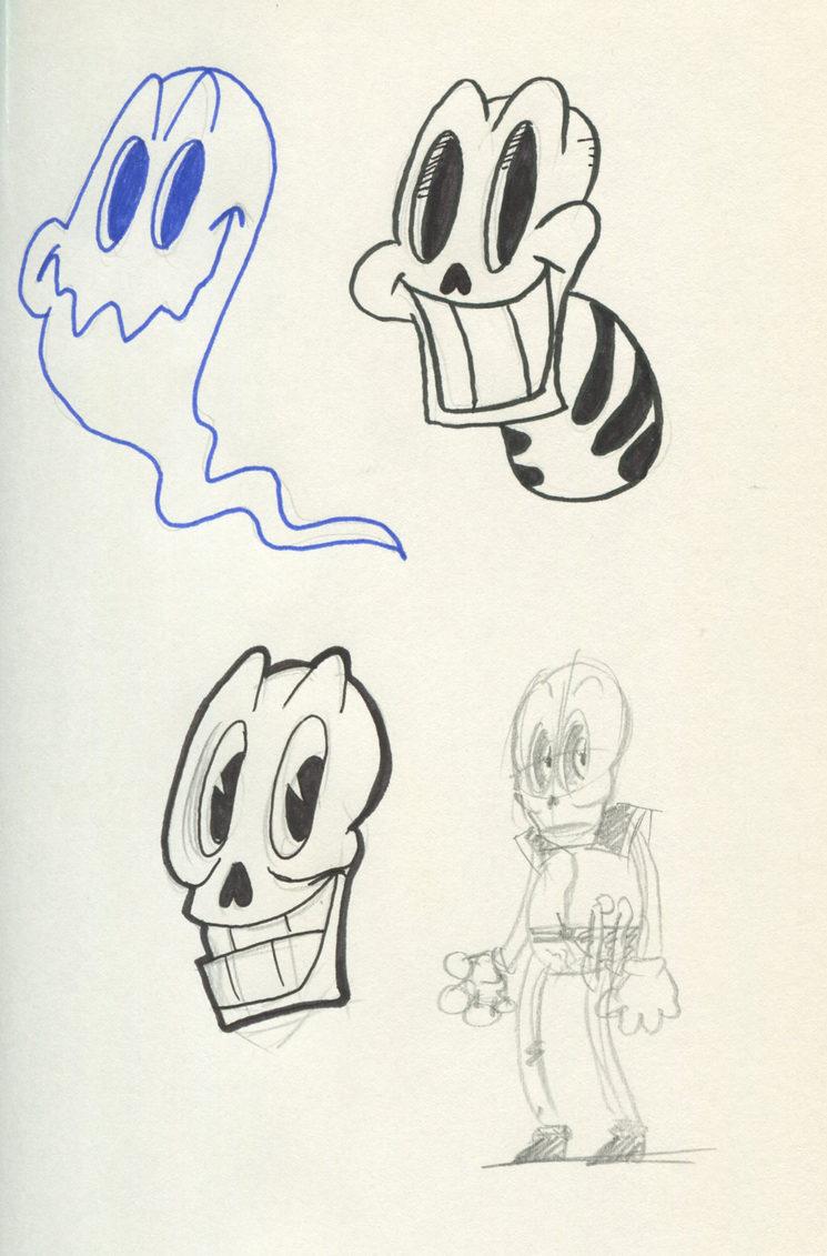 Esta es una de las láminas. Os sorprenderán algunos diseños bastante curiosos.