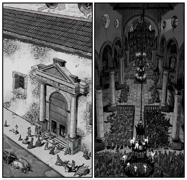 La vida en Cartagena de Indias durante el asedio