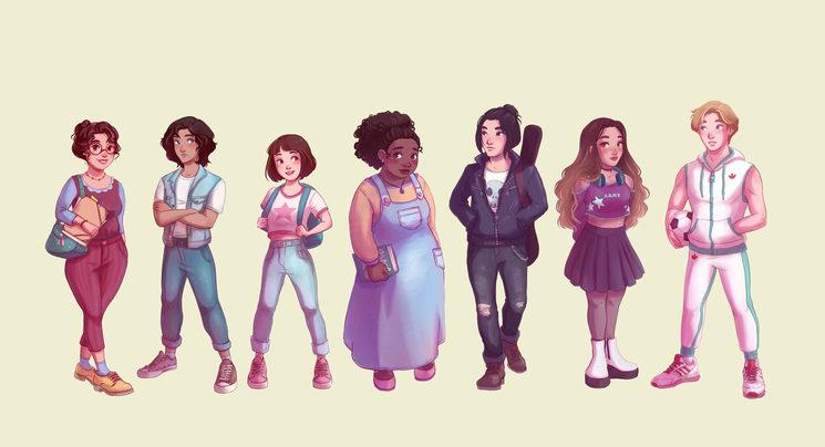 personajes de EL CLUB DE LOS MIÉRCOLES.