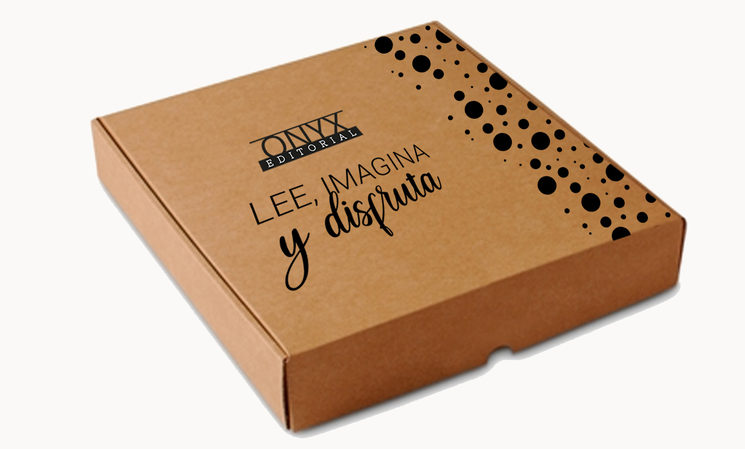 Diseño caja para mecenas.