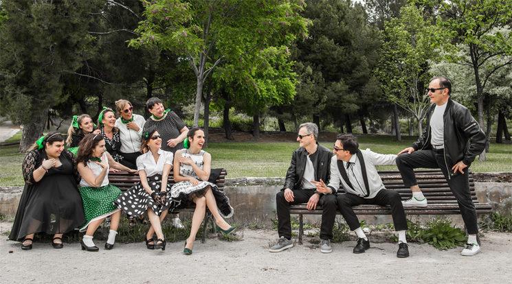 "Foto promocional del concierto "" Aquellos maravillosos 50"""