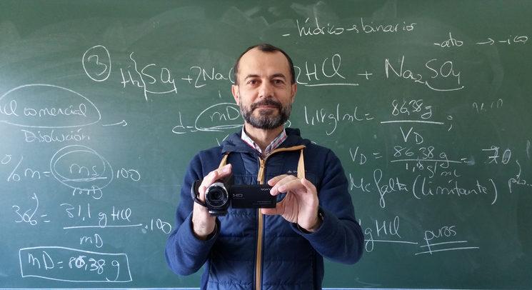 Antonio Pérez, nuestro profe protagonista.