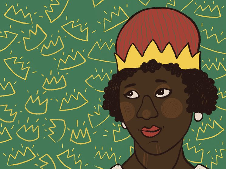 Anna Nzinga, una gobernante icónica durante una época turbulenta en África. Ilustración: Ana Cebrián