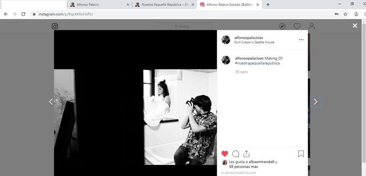 instagram oficial @alfonsopalacioes