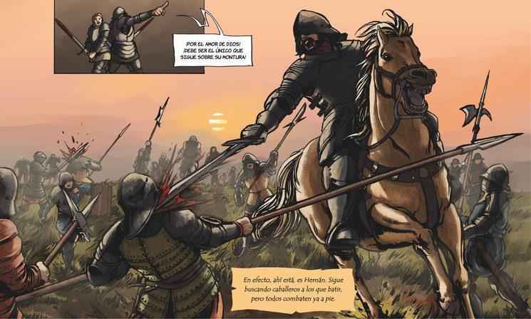 Primeras armas en la guerra contra los portugueses