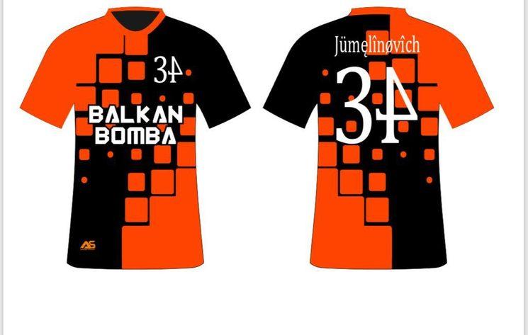 Frontal y trasera Camiseta Oficial (Numero y nombre personalizable)