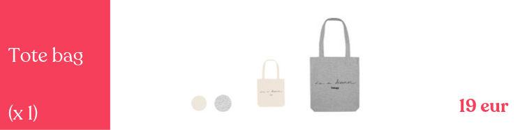 Tote Bags Unisex para llenar de grandes sueños
