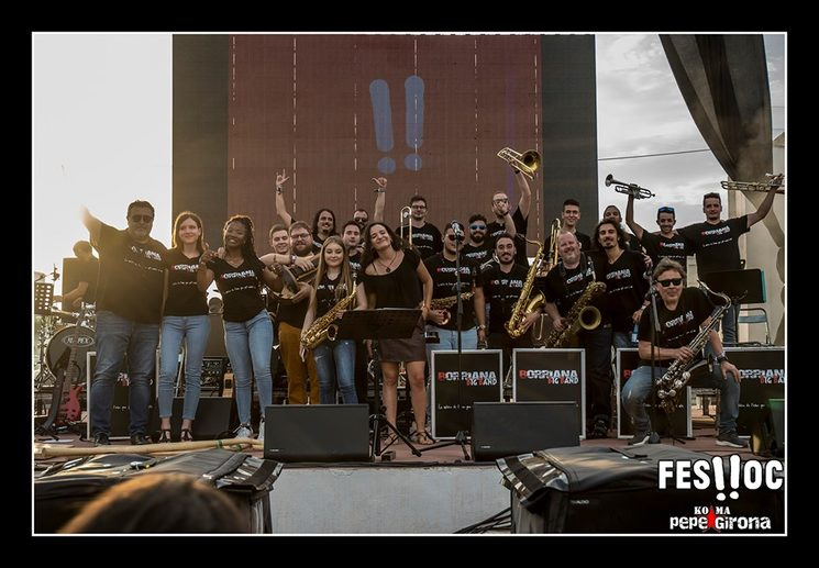 Pas de Baixamar (antiga Borriana Big Band) pel Feslloch