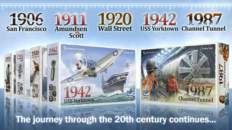 ¡El día 20 la serie 1900 sale en KICKSTARTER!
