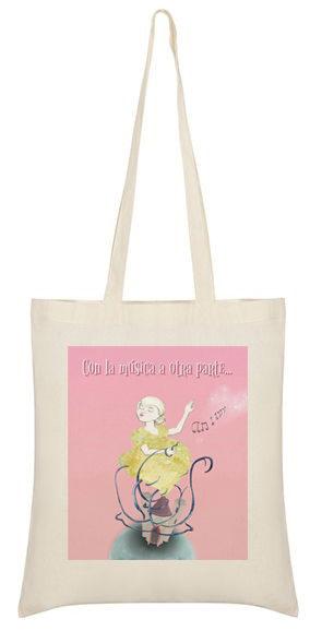 Illustrated bag