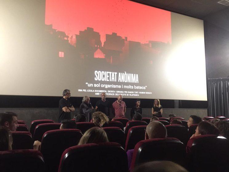 """La pre-estrena de """"Societat Anònima"""" va ser espectacular! Gràcies de nou!"""