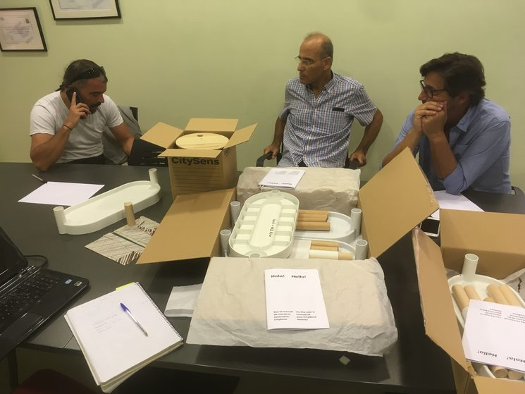 Reunión de preparación con el equipo de la Fundación Santa Teresa