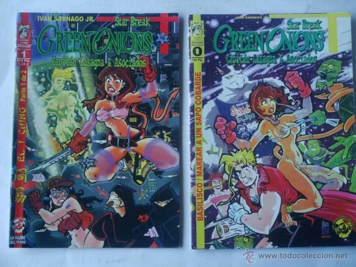 Los dos números de Green Onions de Amaníaco Ediciones.